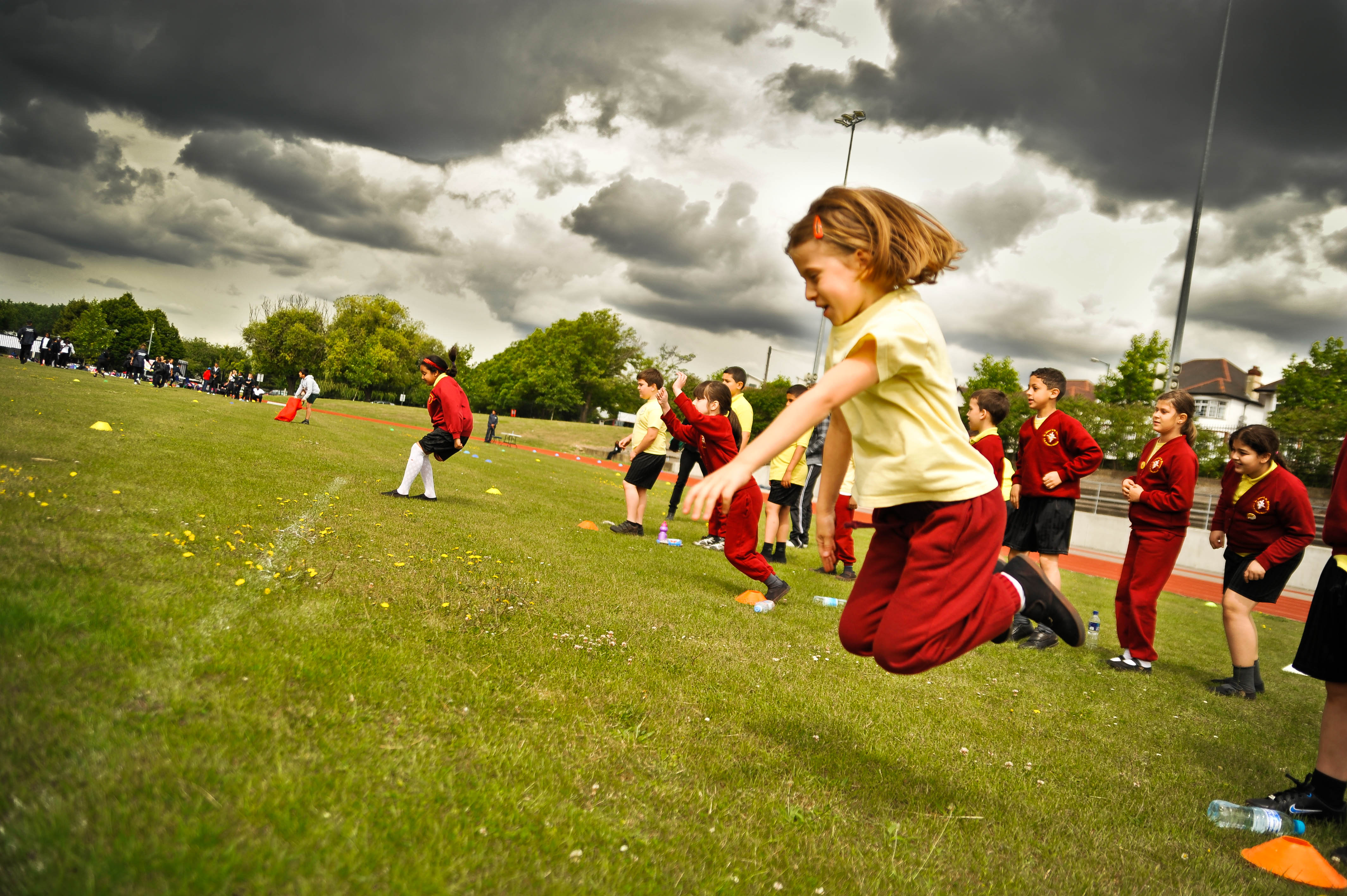 78% of UK children failing to meet recommended fitness levels