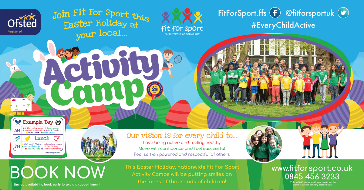 Easter kids activity camps London