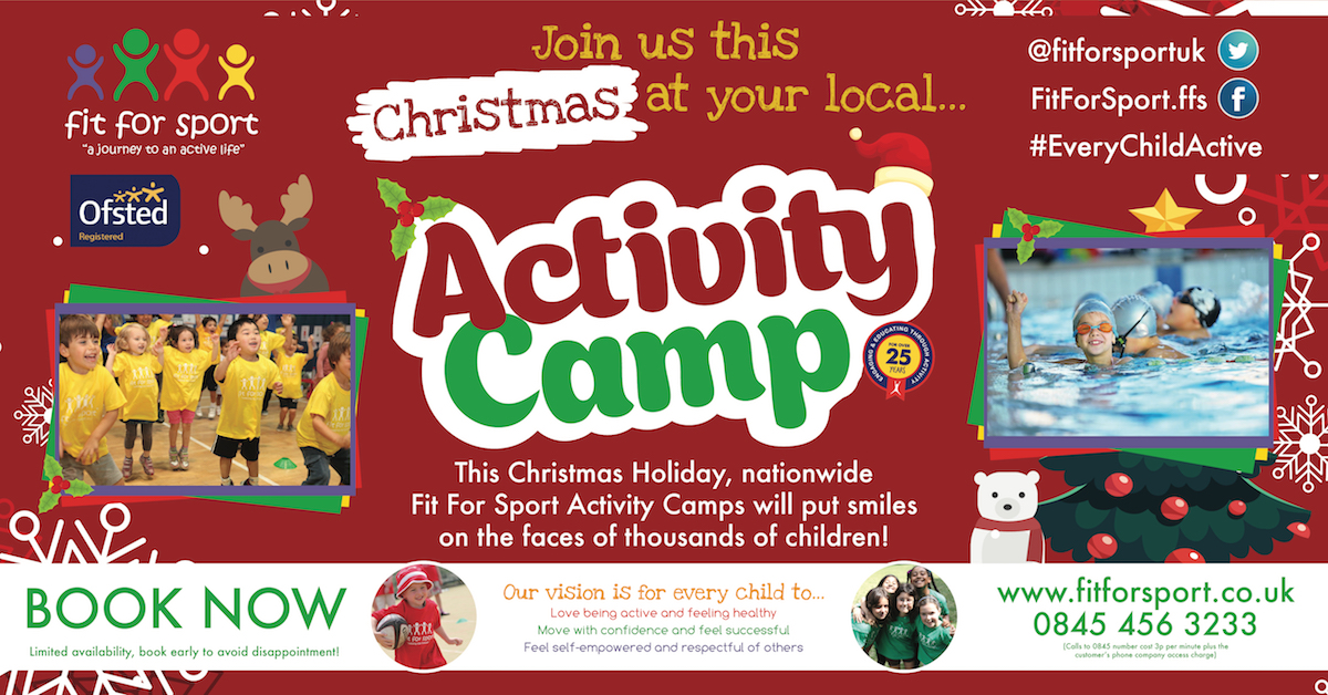 christmas holiday kids activity camps